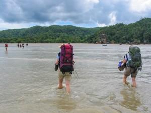 Marsch zum Bako Nationalpark