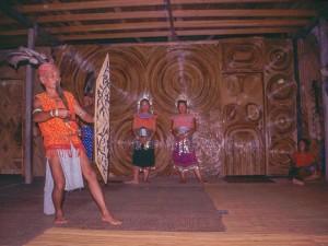 Exklusive Vorführung im Longhouse