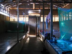 Unsere Unterkunft bei den Iban