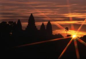 Angkor Wat en kitsch