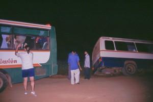 Rettungsaktion nach dem Unfall in Kambodscha