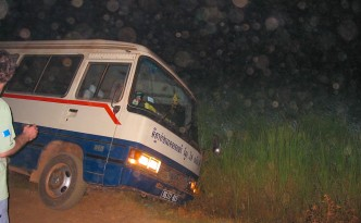 Unfall in Kambodscha