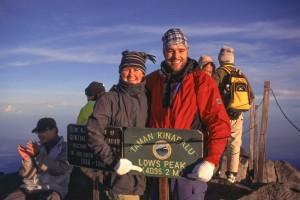Low's Peak bei Sonnenaufgang