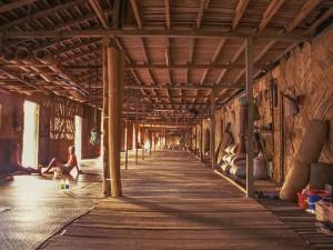 Longhouse der Iban