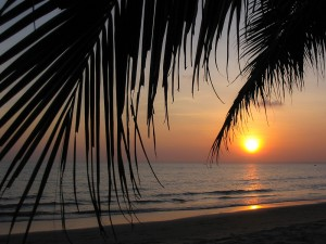 Sonnenuntergang in Mui Ne