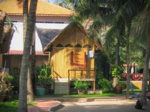 Unsere Bambushütte in Mui Ne