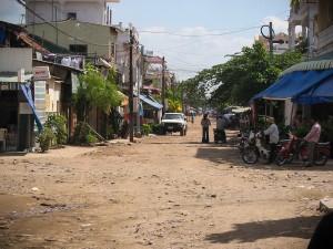 In den Straßen Phnom Pens