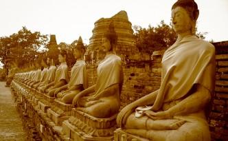 In Ayutthaya