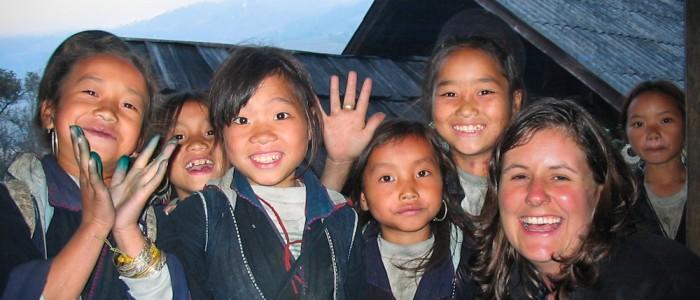 Kinder in Sapa