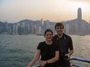 Wir sind in Hong Kong