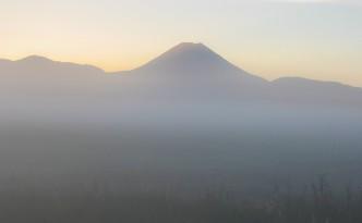 Mt. Ngauruhoe im Morgengrauen