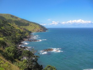 Küste der Coromandel Halbinsel