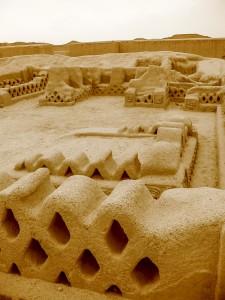 Überbleibsel der Chimu-Kultur