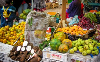 Farbenfrohe Märkte