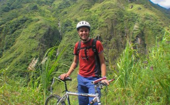 Radtour auf der Via a Banos
