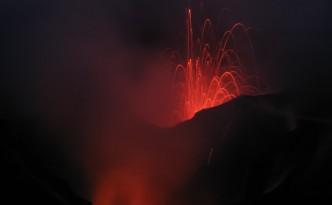 Lava auf dem Mt. Yasur