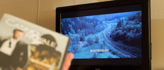 James Bond in Montenegro - Anreiseszene