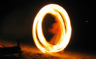 Feuerzauber auf Ko Lanta