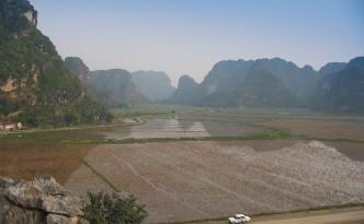 Halong Bay on land