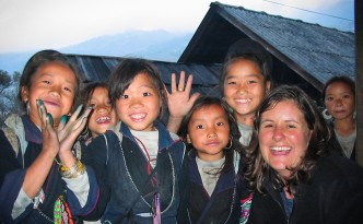 Kinder in Sapa