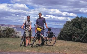 Mit den Rädern in Hobart