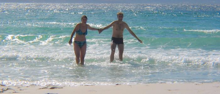Strand auf Maria Island