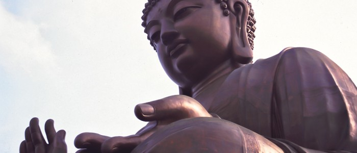 Riesige Buddha-Statue auf Lantau