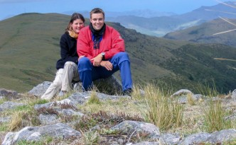 Gipfel des Mt. Herbert