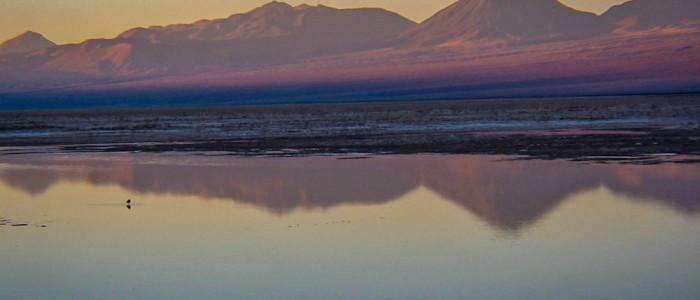 Sonnenuntergang in der Atacama