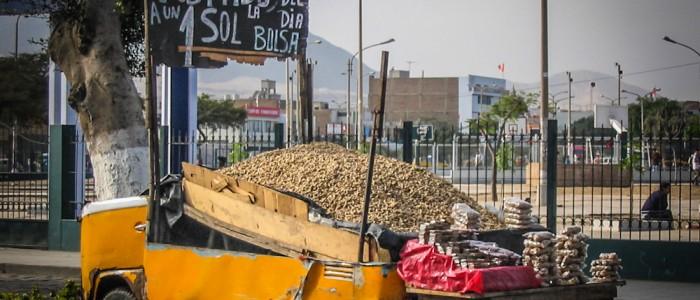 Erdnussshop in Trujillo
