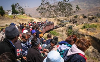 Zugfahrt ab Riobamba