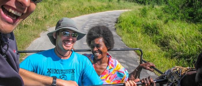 Fahrt nach Nguna